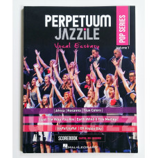 Scorebook Perpetuum Jazzile (Pop Series Vol. 1)